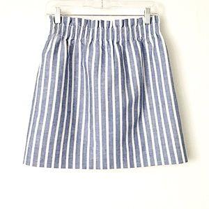 J. Crew Skirts - J. Crew | Striped Sidewalk Mini